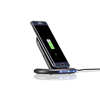 m-egal Qi cargador inalámbrico para Samsung Galaxy S8 U8 10 ...
