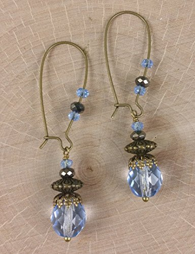 sky-blue-faceted-crystal-filigree-antique-brass-earrings