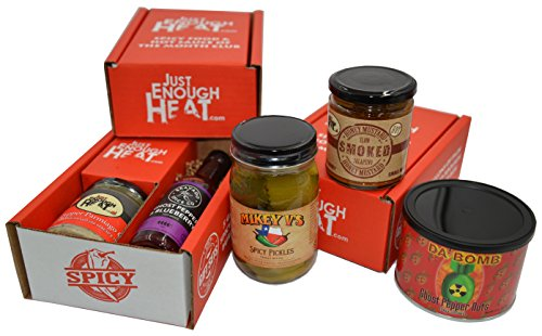 Just Enough Heat Spicy Food & Hot Sauce of the Month Club -