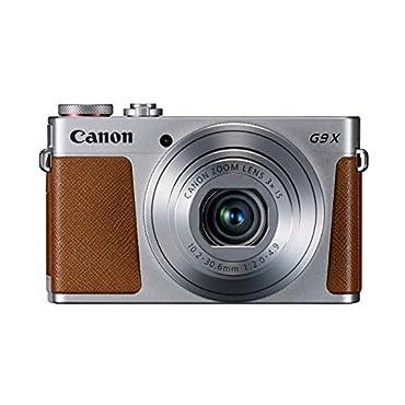 Canon Powershot G9X Digital Cameras Silver