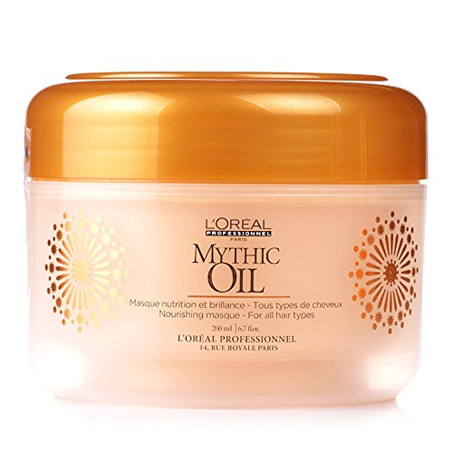 L Oreal Professional Mythic Oil, Nourishing Masque, 6.7 Ounce