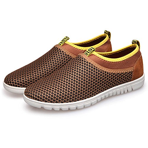 1e913e31846f8 Men s Breathable Mesh Slip On Loafers Outdoor Sport Running - Import It All