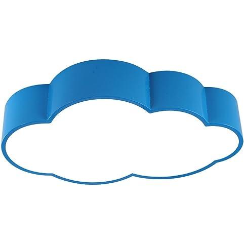 WAWZW Moderne LED Deckenleuchten Blauen Wolken Kinder Deckenleuchte Farbe  Einfache Und Moderne LED Schlafzimmer