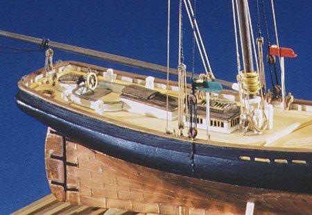 Model Shipways Phantom Ny Pilot Boat 1:96 Scale Historic Wooden Ship Model Kit MS2027 Model-Expo