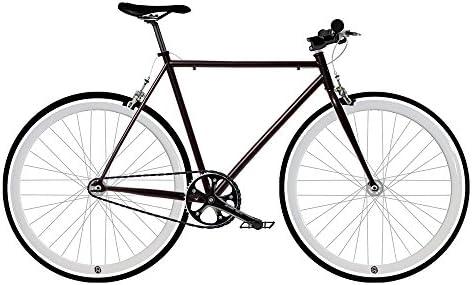 Mowheel Bicicleta Fix 2 White. Monomarcha Fixie/Single Speed. Talla 53: Amazon.es: Deportes y aire libre