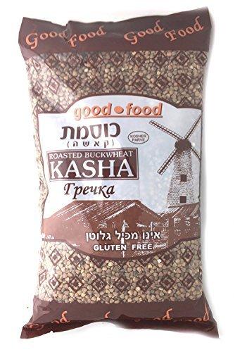 Roasted Buckwheat Kasha, Buckwheat Groats, Kosher 2 lbs