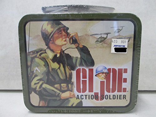 GI Joe Action Soldier Reusable Tin