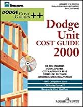 Unit Cost Guides 2000 (Book/CD-ROM)