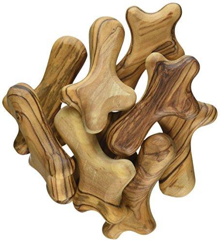 25 Medium Olive Wood Pocket /Holding Crosses