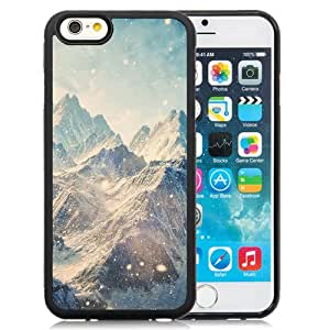 NEW Unique Custom Designed iPhone 6 4.7 Inch TPU Phone Case With Himalayan Mountains Landscape Snowfall_Black Phone Case