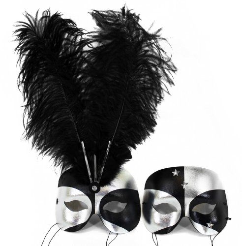 Success Creations Twilight Couple Masquerade Masks for a Couple