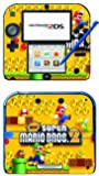 New Super Mario Bros 2 Game Skin for Nintendo 2DS Console by Skinhub