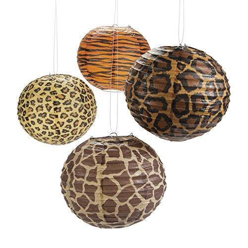Fun Express Paradise Safari Paper Lanterns (12) -
