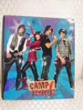 Camp Rock Jonas Brothers 3-ring Notebook Binder vinyl