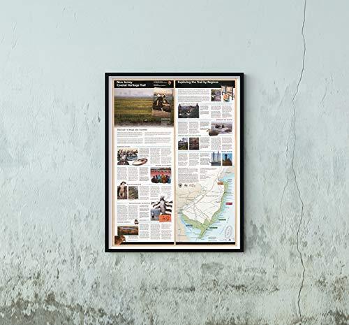 2002 Map|Title: New Jersey Coastal Heritage Trail|Subject: Heritage Tourism, Tourist|New Jersey|New