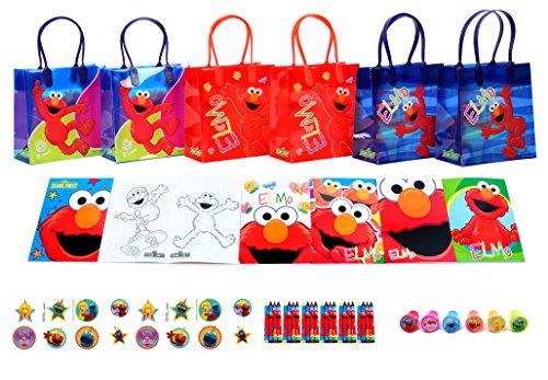 Elmo Book Bag - 4