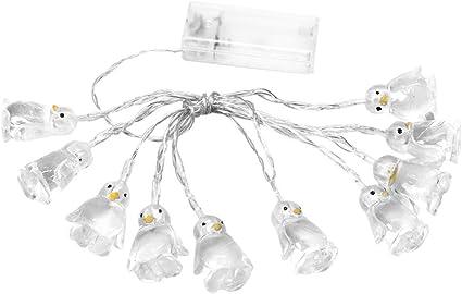 10 LED 1.65M Penguin Animal Shape String Lights Home Decorations LED Light