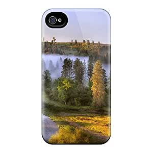 New Design Shatterproof WPqTwEx861ShUoF Case For Iphone 4/4s (morning Mist In The Hollow) by icecream design