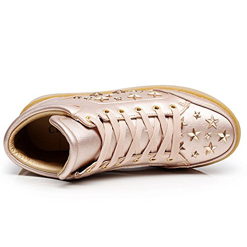 Rivets confortable Sneakers Mode Casual sneaker Trainers Cestfini Chaussure haute Femme gY4WHwqpa