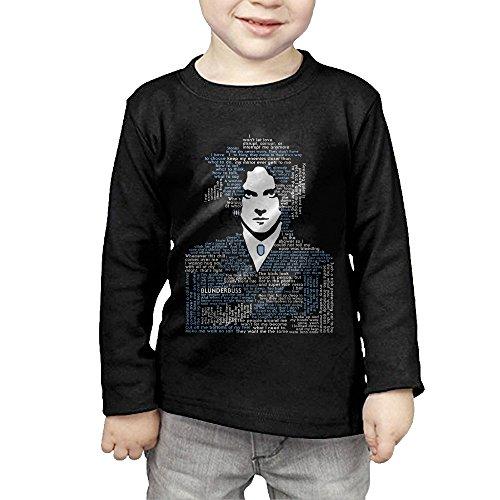 [QSDFE Infant Boy's & Girl's Jack Musician White Long Sleeve Shirt 3 Toddler Black] (Billiard Girl Costume)