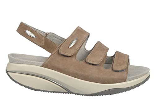 493491cf7ed8 MBT Women s Tatu 5 Tan Sandal US 4-4.5  Amazon.ca  Shoes   Handbags