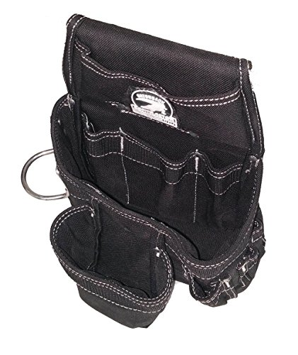 Gatorback B145 Carpenters Triple Combo w/Pro-Comfort Back Support Belt. Heavy Duty Work Belt (X-Large 40''-44'') by Gatorback (Image #2)