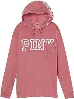 abb0bd0828fbd Victoria's Secret Pink Perfect Zip Hoodie Large Black White Gray ...