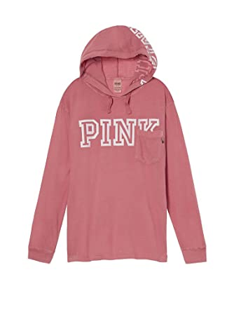 1dafd5fb1a799 Victoria's Secret PINK Campus Hoodie Tee