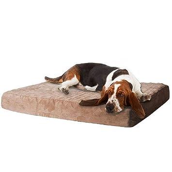 PaylesswithSS - Cama de espuma viscoelástica para perro con funda extraíble: Amazon.es: Productos para mascotas