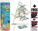 Suspend Junior - Family Game + FREE Melissa & Doug Scratch Art Mini-Pad Bundle