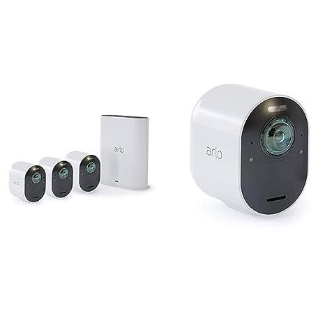 408dba954 Arlo Ultra 4K UHD Wire-Free Security 4 Camera System