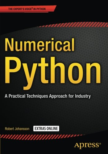 Numerical Python: A Practical Techniques Approach for Industry by Apress