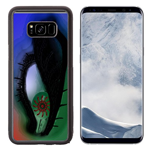 Liili Premium Samsung Galaxy S8 Plus Aluminum Backplate Bumper Snap Case Green eye mantras Photo 17631537 Simple Snap Carrying