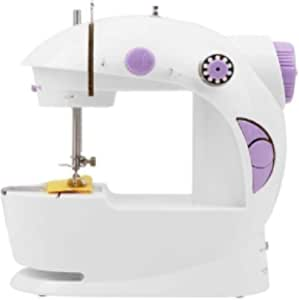 Mini Portable Electric Operated Sewing Machine - White