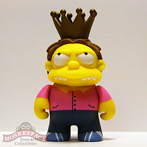 Kidrobot x The Simpsons 25th Anniversary Vinyl Mini Figure PLOW KING BARNEY (3/40 Rarity) ~ Opened to Identify