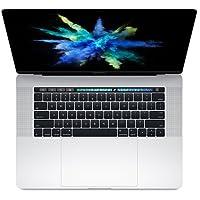 Apple MacBook Pro 38,1cm con Touch Bar: 2.8GHz Core i7de Intel de cuatro núcleos, 512GB–plateado (Mid 2017)