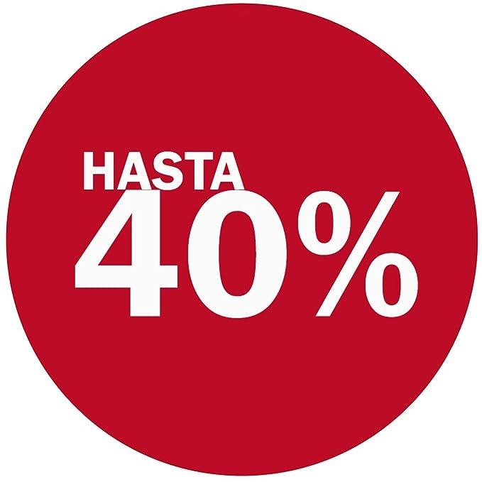 Vinilo de Rebajas 40% | Cartel Rebajas | Rebajas en tu ...