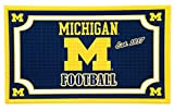 michigan goods - Team Sports America Michigan Wolverines Embossed Floor Mat, 18 x 30 inches