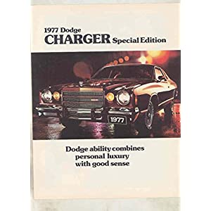 1977 Dodge Charger Special Edition Brochure Canada