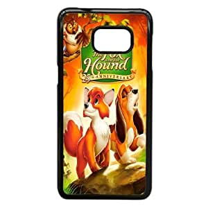 Personalized Durable Cases Samsung Galaxy S6 Edge Plus Cell Phone Case Black Milzy The Fox and the Hound Protection Cover