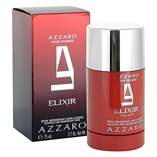 6089334f0c Pour Homme Elixir by Azzaro Deodorant Stick 75g  Amazon.co.uk  Health    Personal Care