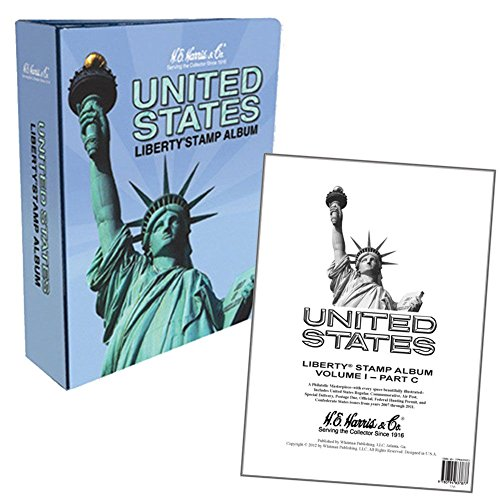 Harris USA Liberty Stamp Album Part C 2007-2012 with Pictures / Illustrations