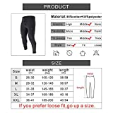BROKIG Mens Zip Jogger Pants - Casual Gym Fitness