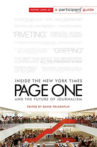 Image of Page One: Inside The New York Times and the Future of Journalism (Participant Media Guide)