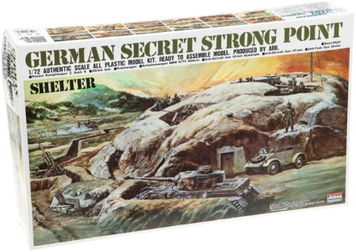 [해외] 마이크로 포스 에이스 1/72 독일군 스트롱 포인트 밀리터리 시크릿 기지