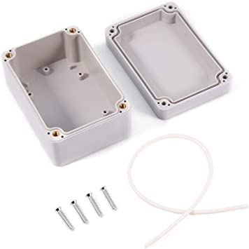 Caja estanca de conexiones ip 66, Caja de proyecto de plástico abs uso para el exterior(100x68x50mm): Amazon.es: Bricolaje y herramientas