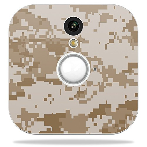 MightySkins Skin for Blink Home Security Camera - Desert Camo | Protective, Durable, and Unique Vinyl Decal wrap Cover | Easy to Apply, Remove, and Change Styles | Made in The USA ()
