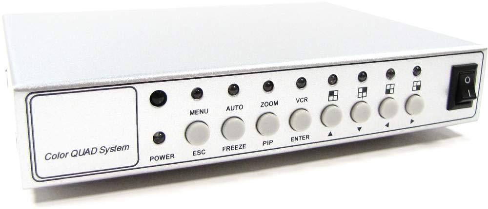 Cablematic - Sistema Quad para CCTV de 4 canales de ví deo Cablematic.com PN26021402153112898