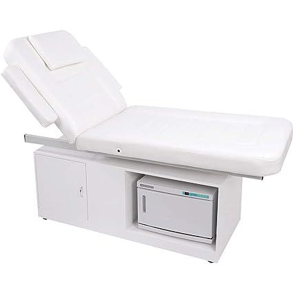 012102 Camilla de masaje Wellness Camilla con calentador de toallas