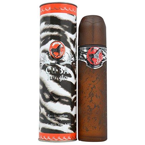 CUBA JUNGLE ZEBRA by Fragluxe Eau De Parfum Spray 100 ml for (Cuba Zebra)